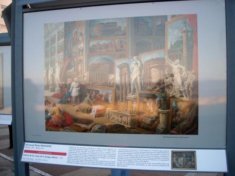 Algunas son fotos de parte del cuadro original, o sea un detalle del cuadro completo