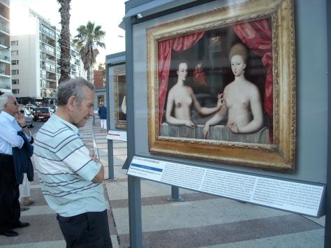 """Dele, Don, Ud está mirando """"otro arte"""", jajaja"""