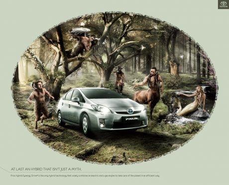 Lindo afiche para el Titota Prius, mitológico