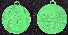 Las Medallas, de plástico, de Titanes en el Ring ... reverencia