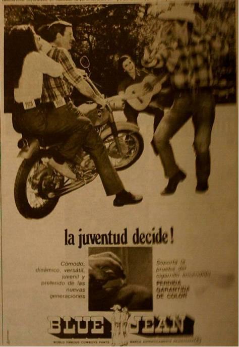 y estos Blue Jeans del 70