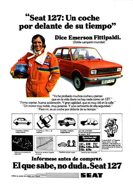 Seat es el Fiat, en España.
