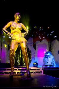 Lucy Fur es C-3PO