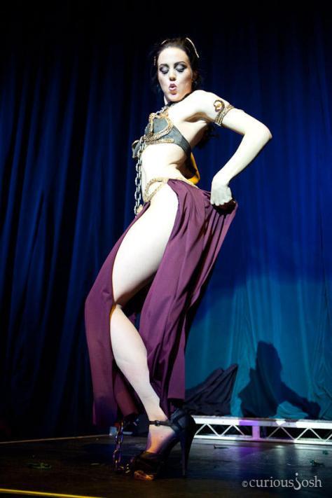 Olivia Bellafontaine es Princess Leia