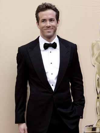 Ryan Reynolds, con un traje Tom Ford