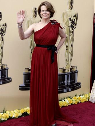 Sigourney Weaver, Avatar, vestida con un Lanvin