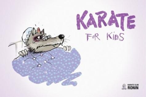 Escuela de karate para niñe. Serán los malos los que les tendrán miedo ahora