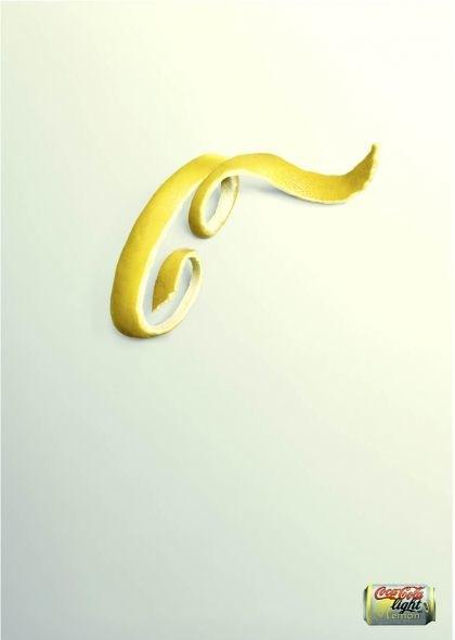 Coca Cola con limón