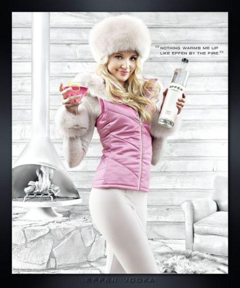 O si vas a vacacionar a un lugar nevado, ahora en julio, te espera esta promotora ...