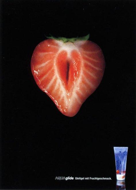 AquaGlide, lubricante sabor frutilla