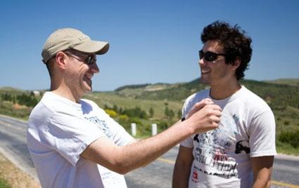Enrique Buchichio y Martin Rodriguez (Leo)