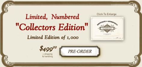 Si tienen 499 dólares disponibles, y les gsta esto, como a mi, vayan reservando