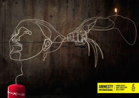 Los derechos humanos necesitan tu llama