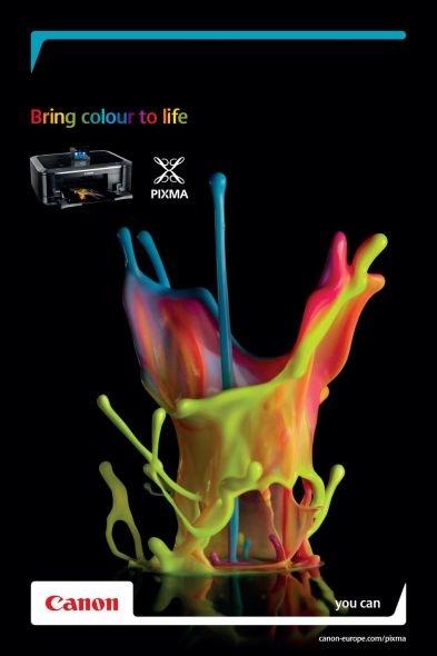 Lleva color a tu vida. Canon