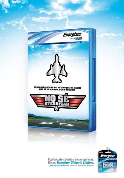 jaja, me hubiesen venido bien las energizer, cuando jugaba al Flight simulation, nunca pude aterrizar bien