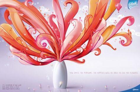Hueles el perfume. Los hippies pueden ver las flores. Es la primavera en tu casa con glade sense & spray