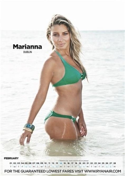 Marianna-Ryanair-calendar-2011