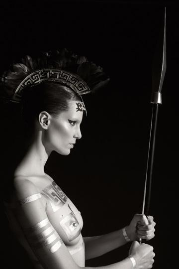 Athena es Iris Strubegger.