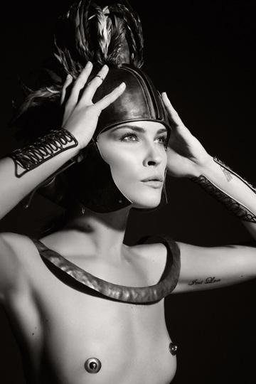 La modelo Erin Wasson.
