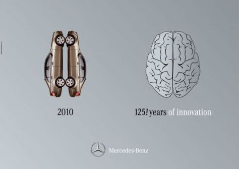 125 años de Mercedes Benz, Cerebro