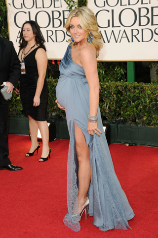 Jane Krakowski, de 30 Rock. No sabía que estaba embarazada