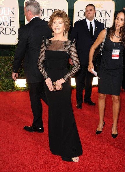 y esa señora es Jane Fonda