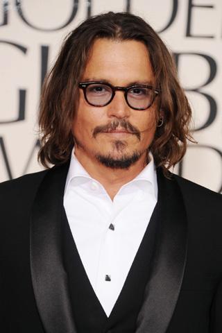 Johnny Depp, un amigazo. El muy guacho fue sin su mujer, la linda Vanessa Paradis