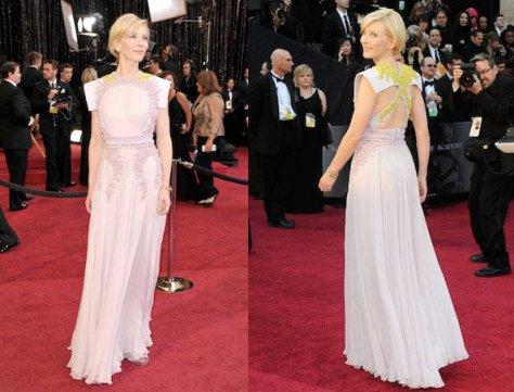 De pie por favor, Cate Blanchett estaba radiante con este diseño de Givenchy Couture.