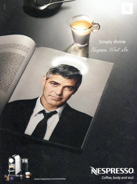 George Clooney, para Nespresso (ya lo hemos visto en video)