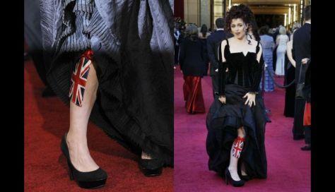 ¿sería porque se puso la bandera del Reino Unido en la pierna? jajaja