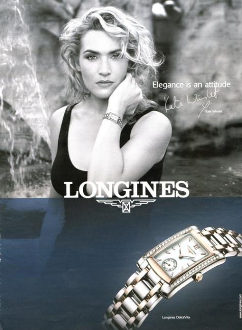 Nuestra buena amiga Kate Winslet, para Longines