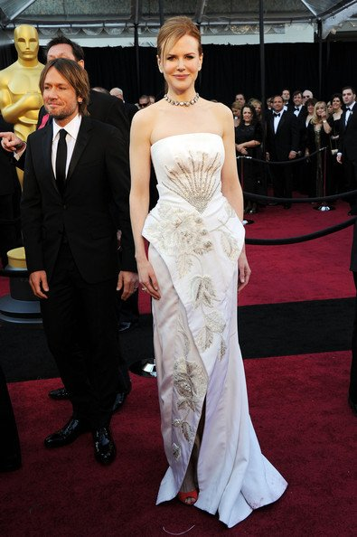 Nicole Kidman con su Dior Couture fue de las peores vestidas, según muchos. Yo le dije a mi mujer ni bien la vi, ¿qué se puso?