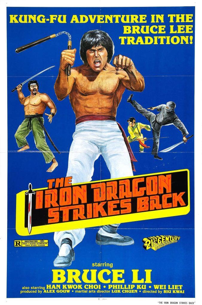 Otra gran truchada china, Bruce Li (jugando con el nombre del gran Bruce Lee)