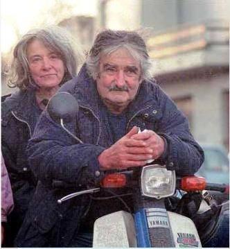 Pepe Mujica y Lucia