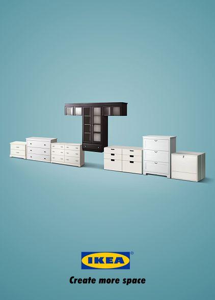 Ikea, tetris. Crea más espacios.