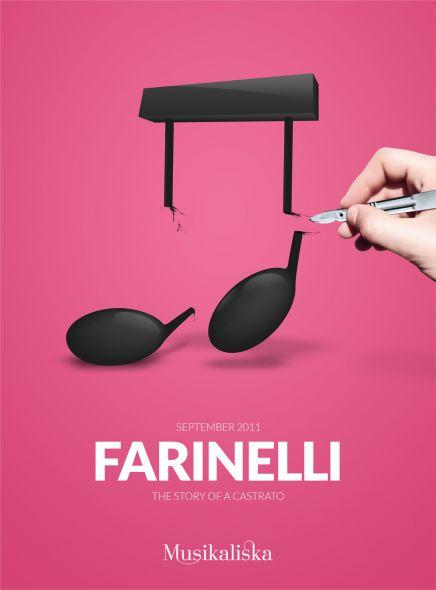 Promoción de Farinelli, il castrato, en el Musikaliska Concert Hall in Stockholm. A propósito, me gustó la peli y me compré el CD