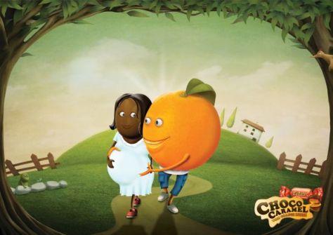 con naranja