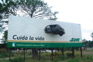 Campaña de seguridad de Suat, en la vía pública
