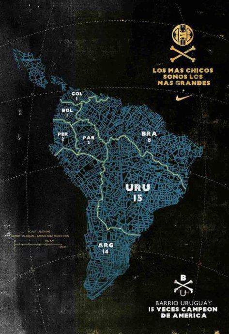 mapa de amércia