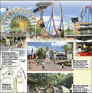 Proyecto. Así se verá parte del nuevo Parque Rodó, según la infografía que circuló hace 3 años