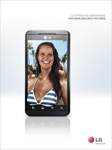 LG Optimus 3D Smartphone. Para fotos más realistas ... y si  :)
