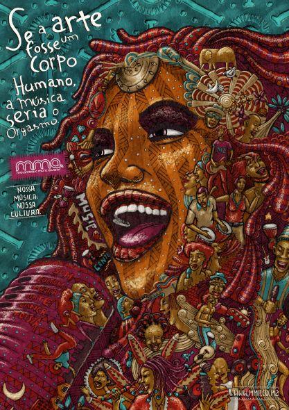 Mozambique Music Awards. Si el arte fuese un ser humano, la música sería el orgasmo.