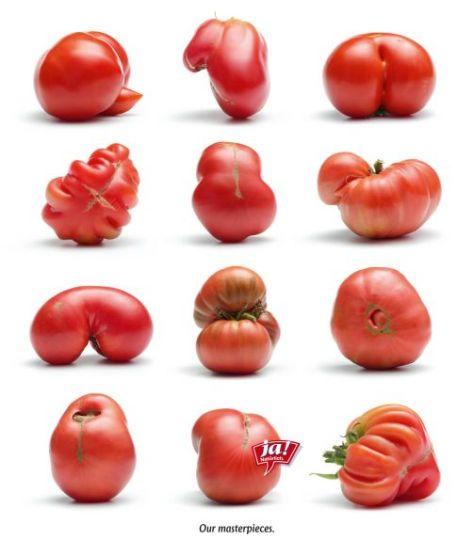 Nuestras obras maestras. Anuncio para la marca de alimentos orgánicos Ja!. Natuerlich en una edición especial para conmemorar la semana de diseño de Viena.