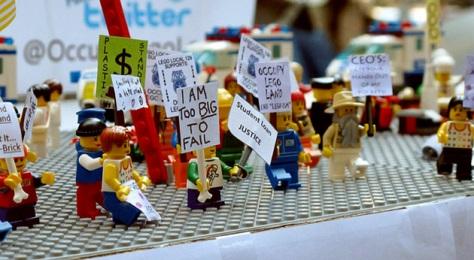 """Cientos de seguidores del movimiento """"Occupy Wall Street"""" se concentran en Zuccotti Park"""
