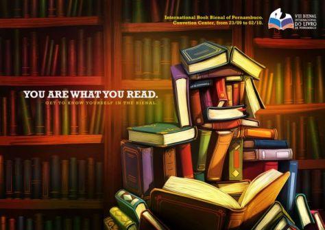 Feria del libro en Pernambuco. Eres lo que lees
