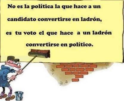 2 políticos ladrones