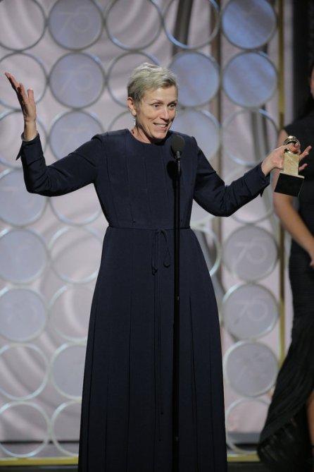 Frances McDormand puede hacer lo que quiera, y más después de lo que consigue en 'Tres anuncios en las afueras'