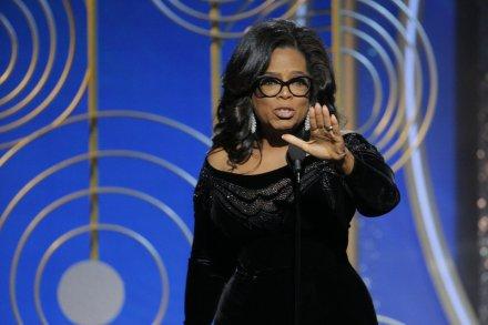 Oprah Winfrey recogió su Cecil B. DeMille a toda una carrera y, de paso, pronunció el discurso más detalladamente medido de la noche