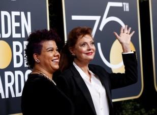 Rosa Clemente y Susan Sarandon (Reuters)