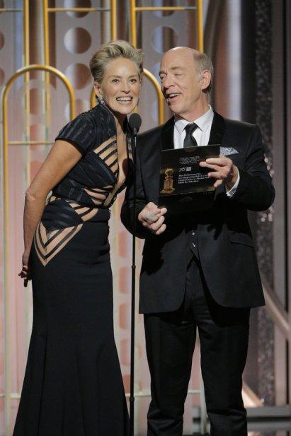 Sharon Stone y J.K. Simmons
